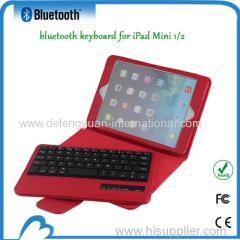 Fashionable ultrathin slim wireless bluetooth keyboard for ipad mini