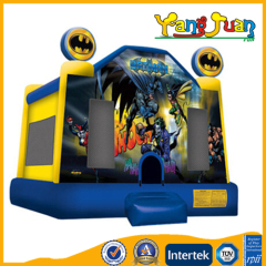 Inflatable batman bounce house