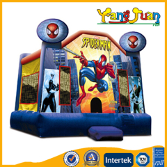 Spiderman jumper bounce house