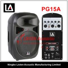 Professional Passive Stage Audio Speaker PG15 / 15A