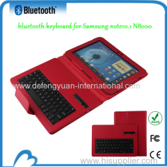 The factory sales promotion bluetooth keyboard for Samsung note10.1