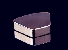 Heat Resistant Silver Neodymium Magnets N52 Block