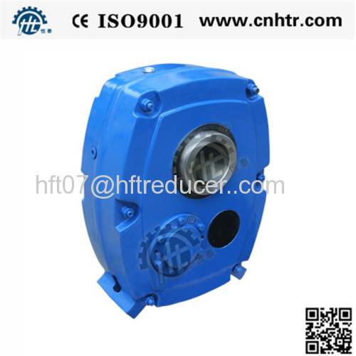 SMSR HXGF Shaft mounted helical gearbox from China manufacturer