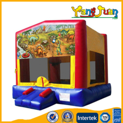 Banner Inflatable Bounce castle Dinosaur