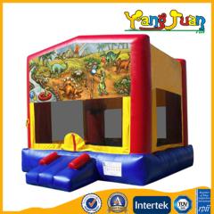 Banner Inflatable Bounce castle Dinosaur