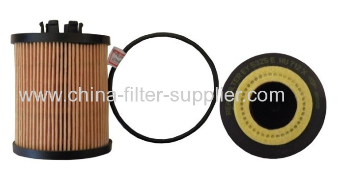 Mann Oil Filter Element Metal Free For Opel Astra H 1.4
