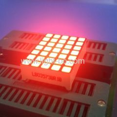 Super Red 3mm 5 x 7 square dot matrix led display for Elevator Position Indicator