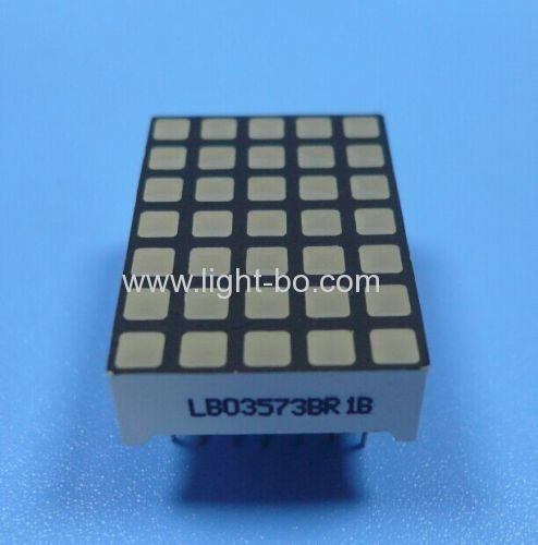 3mm 5 x 7 square dot matrix led display for Elevator Position Indicator