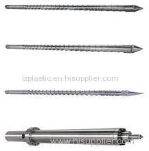 Screw and Barrel for Injection Moulding Machine