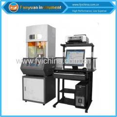 China Digital Rubber Rotorless Rheometer