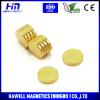 neodymium disc magnet gold coating