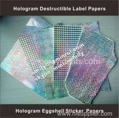 special egg shell sticker papers in sheets from China Manufacturer