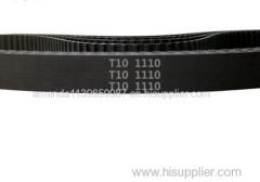 factory price &free shipping industrial rubber synchronous belt T10 111teeth length 1110mm pitch 10mm width 10mm Neopren