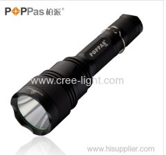 600 Lumens Rechargeable CREE XM-L T6 high power led toch light