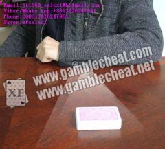Nieuwe manchetknop camera met 4 lens voor poker analyzer | gemarkeerde kaarten | verborgen camera | poker cheat