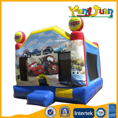 Inflatable car bounce house