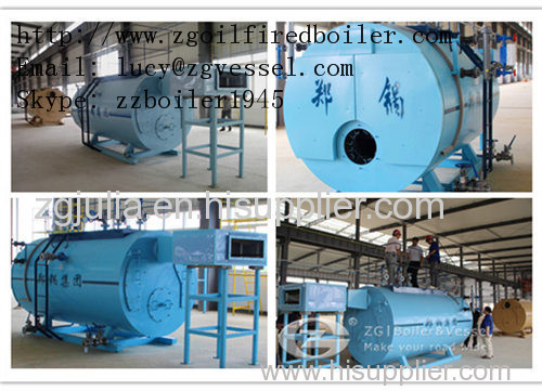 1.4 mw oil hot water boiler manufacturer from China Zhengguo Vessel ...