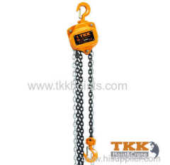 Rated Capacity 1000KG Manual Chain Hoist With CE Certificate
