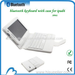 Mini bluetooth keyboard with PU case for Samsung