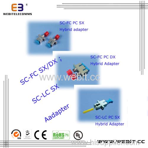 SC-FC SC-LC Fiber Adapter