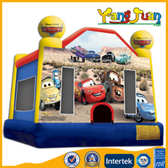 Inflatable car bounce houses