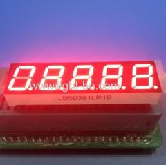 "5 digit led display; 0.39"" 5 digit 7 segment ;10mm 7 segment"