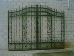 Entrance Garden iron gate