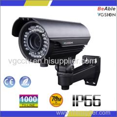 SONY 1000 TVL Waterproof Ip66 metal outdoor housing IR Camera