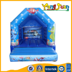 Inflatable Sea World bouncy castle