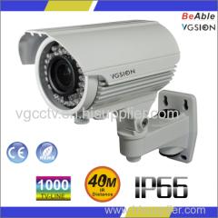 SONY 1000 TVL Ip66 Waterproof outdoor housing IR Camera