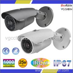 SONY 1000 TVL IP67 Metal waterproof Camera