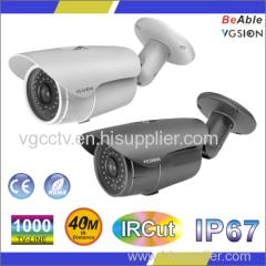 SONY 1000 TVL Metal Bullet Camera IP67 outdoor housing IR Camera