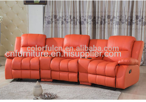 Recliner sofa china for home solan hotel leather sofa/recliner theater chair/ recline sectional sofa set