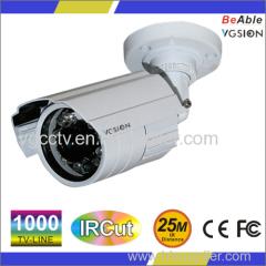 SONY 1000 TVL IP66 metal outdoor housing Waterproof IR camera