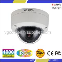 SONY 1000 TVL IP66 Metal waterproof dome indoor IR camera