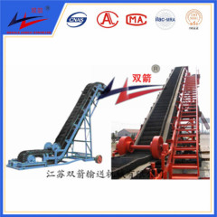 ISO/CE Certificated High Inclination Angle Belt Conveyor