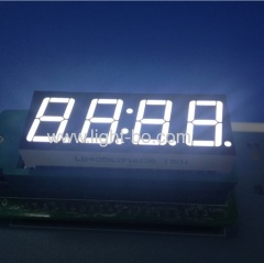 4 digit 0.56 inch led clock display; 0.56 inch white 7 segment ;0.56
