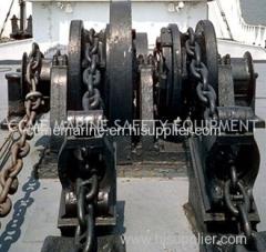 Electric hydraulic marine windlass anchor winch
