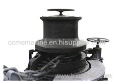 Marine electric wheel capstan Marine vertical type capstan