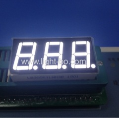 "3 digit 0.56"" white 7 segment; 3 digit white 0.56"" led display"
