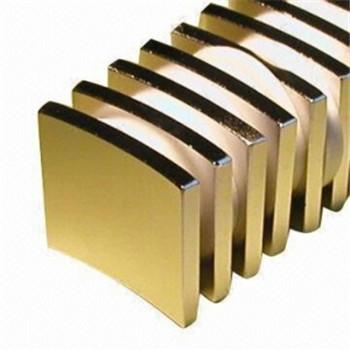 For generator high temperature ndfeb arc magnet