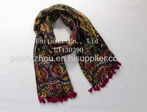 Polyester scarf printing scarf 2015