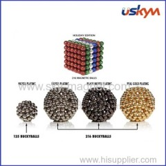 New design colorful magnet ball