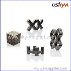 Permanent neodymium magnetic cube