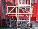 3200kg Material Lifting Construction Lifts Cage , Construction Hoist Elevator Machine