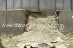 Hesco Type Barrier Temporary Fence