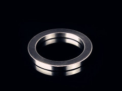 Permanent circle ndfeb magnet with shaped ring