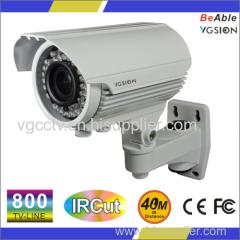 800 TVL IP66 Metal waterproof Outdoor IR Camera