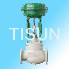 pressure blanced plug control valve