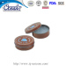Custom printed snap tin lip balm container custom printed promotional items